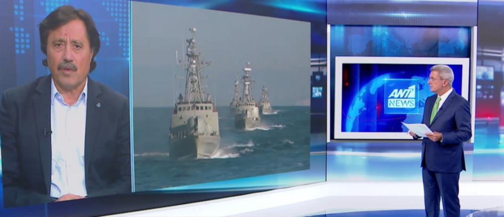 Καλεντερίδης στον ΑΝΤ1: η ΕΕ θέλει διάλογο για να αποφύγει τις κυρώσεις στην Τουρκία (βίντεο)