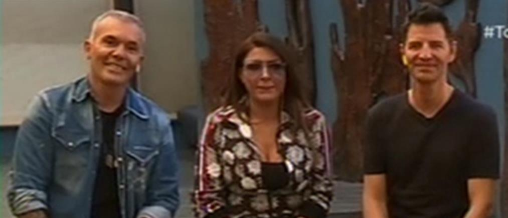 Ρουβάς, Ρόκκος και Παπαρίζου λίγο πριν από την πρεμιέρα τους στον ΑΝΤ1 (βίντεο)