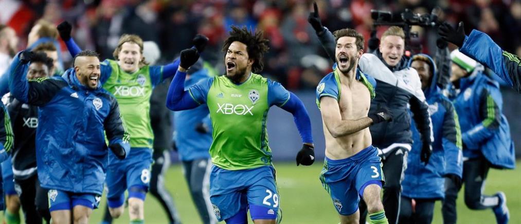 Το Σιάτλ πανηγυρίζει τον πρώτο του τίτλο στο MLS