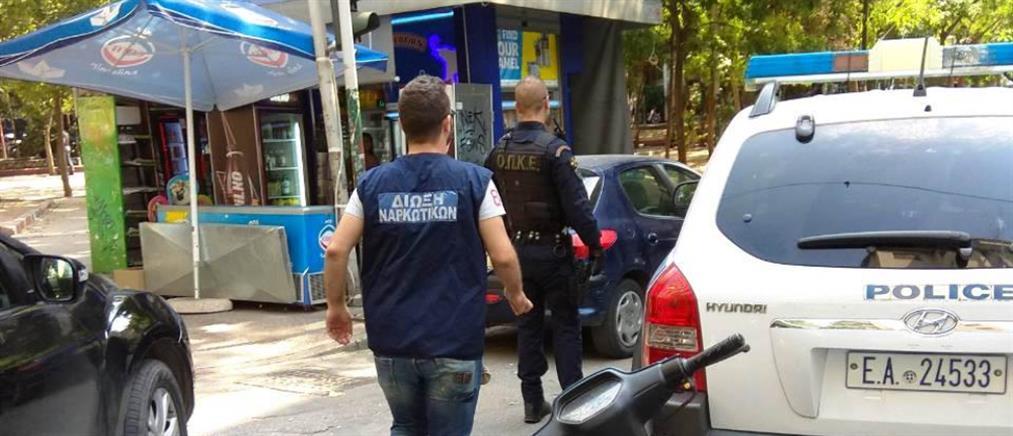 Εξάρχεια: αστυνομική επιχείρηση για την καταπολέμηση της διακίνησης ναρκωτικών