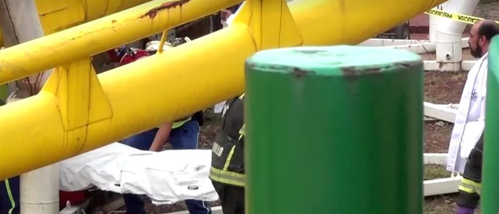 Τραγωδία σε λούνα παρκ: Εκτροχιάστηκε το τρενάκι (βίντεο)