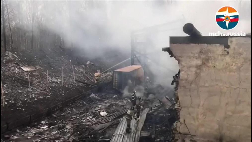 Ρωσία: έκρηξη σε εργοστάσιο με χημικά