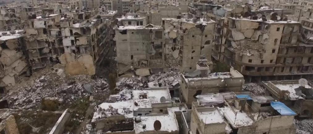 Ομαδικοί τάφοι με γυναικόπαιδα στο Χαλέπι