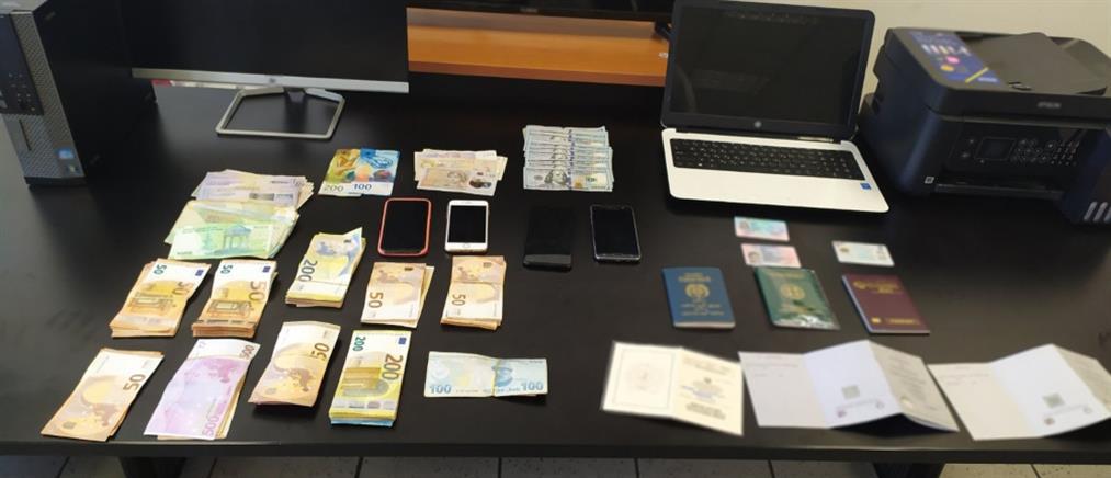 Δεκάδες συλλήψεις για παράνομα έγγραφα