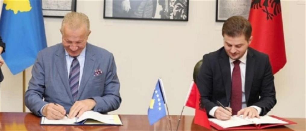 Συμφωνία για κοινή εξωτερική πολιτική από Κόσοβο και Αλβανία