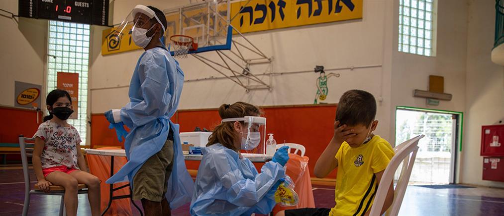 Ισραήλ – Μετάλλαξη Δέλτα: Ρεκόρ στα κρούσματα