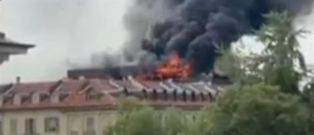 Ιταλία: Φωτιά σε πολυκατοικία στο Τορίνο (εικόνες)