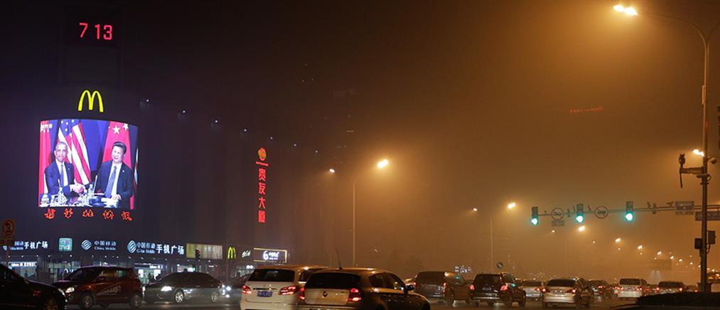 Κίνα: προβλήματα στις μετακινήσεις λόγω αιθαλομίχλης