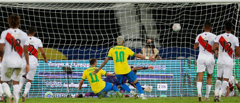 "Copa America: Η Βραζιλία ""διέλυσε"" το Περού"