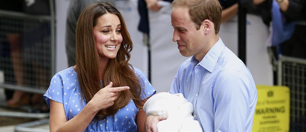 """""""Βροχή"""" πέφτουν τα στοιχήματα για το νέο βασιλικό μωρό"""
