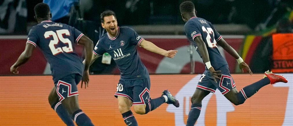 Champions League: Το πρώτο γκολ του Μέσι με την Παρί Σεν Ζερμέν (βίντεο)