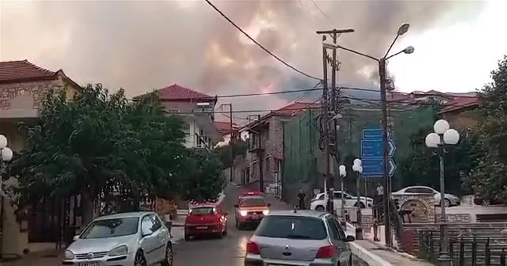 Φωτιά στην Μεσσηνία