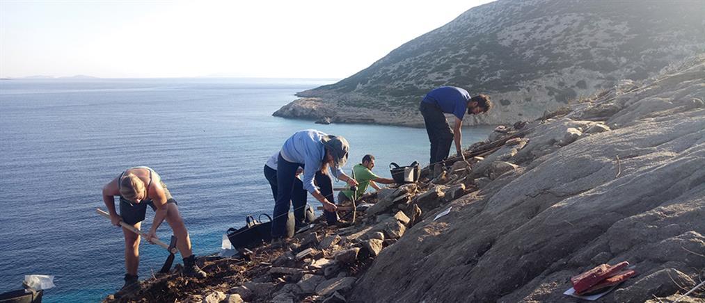 """Ευρήματα τεράστιας αρχαιολογικής αξίας στην """"καρδιά"""" του Αιγαίου"""