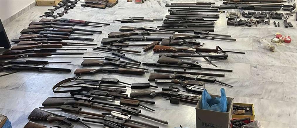 Χανιά - Λαθρεμπόριο όπλων: Εξάρθρωση εγκληματικής οργάνωσης (εικόνες)