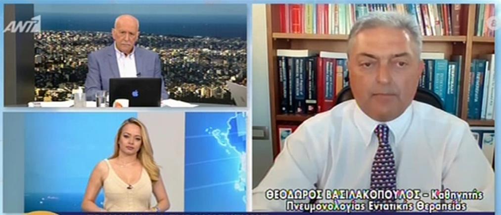 Κορονοϊός - Βασιλακόπουλος: νέο lockdown εάν δεν αυξηθεί ο ρυθμός των εμβολιασμών (βίντεο)