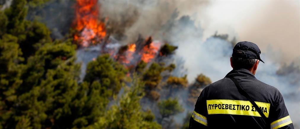 Πολύ υψηλός ο κίνδυνος εκδήλωσης πυρκαγιάς το Σάββατο (χάρτης)