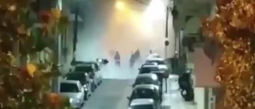 Θεσσαλονίκη: Βίντεο-ντοκουμέντο από την επίθεση στο ΑΤ Συκεών