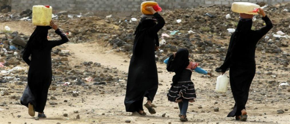 """""""Λιμοκτονούν"""" οι 8 στους 10 στην Υεμένη"""