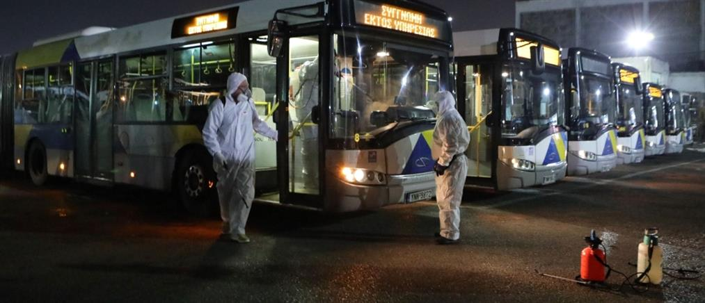 Διαγωνισμός για 800 αστικά λεωφορεία