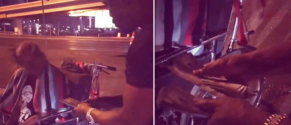 Ο Φλόιντ Μεϊγουέδερ έδωσε 1.000 δολάρια σε ανάπηρο που συνάντησε στον δρόμο (βίντεο)