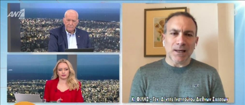 Κωνσταντίνος Φίλης: Γραφικός κι επικίνδυνος ο Μπαχτσελί (βίντεο)