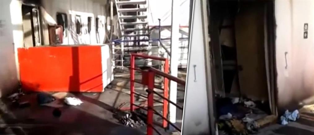 Σοκαριστικό βίντεο από το εσωτερικό του Norman Atlantic