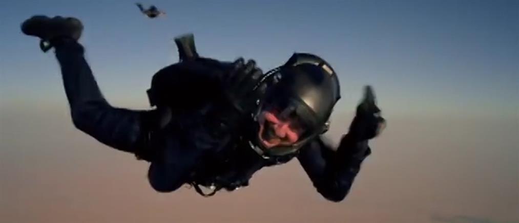 """Κόβει την ανάσα το παράτολμο εγχείρημα του Τομ Κρουζ στα γυρίσματα του """"Mission Impossible"""" (βίντεο)"""