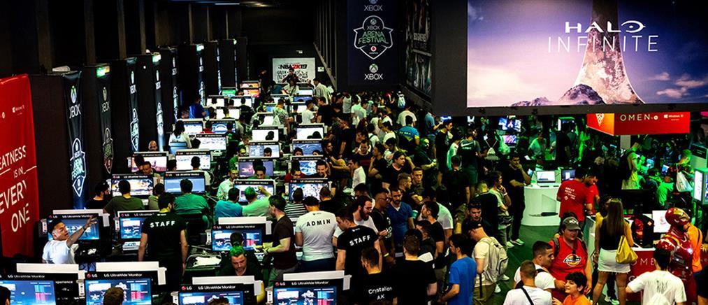 Ρεκόρ με 10000 gamers στο Xbox Arena Festival Sponsored by Vodafone (εικόνες)
