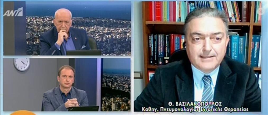 """Βασιλακόπουλος στον ΑΝΤ1: Ναι στο άνοιγμα της αγοράς με """"click in shop"""""""