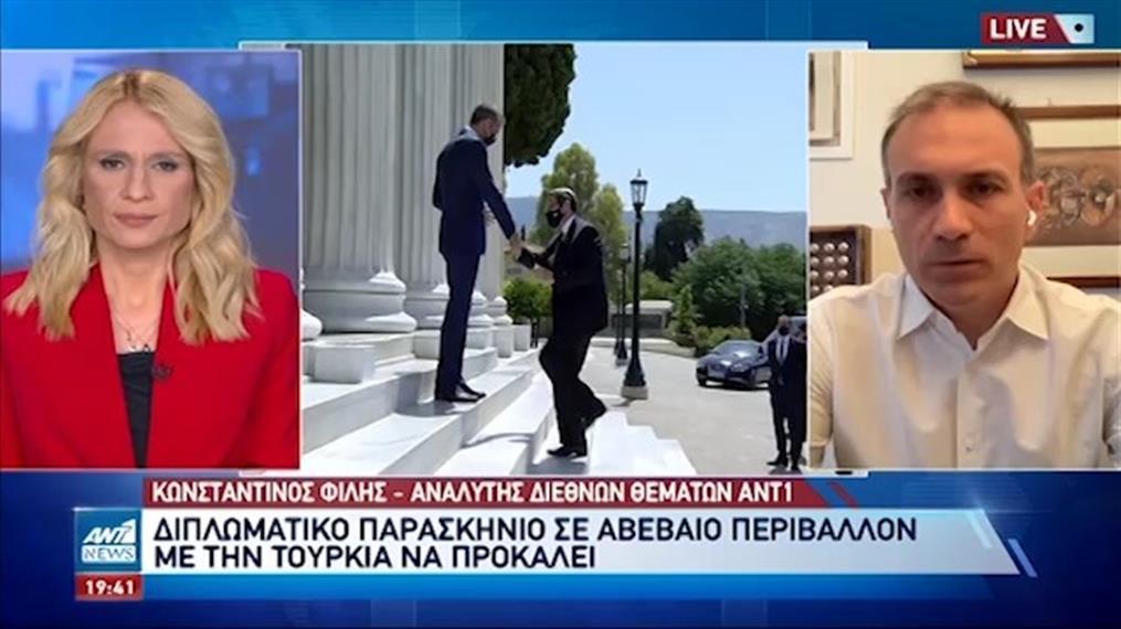 Ο Κωνσταντίνος Φίλης στον ΑΝΤ1 για την τουρκική προκλητικότητα