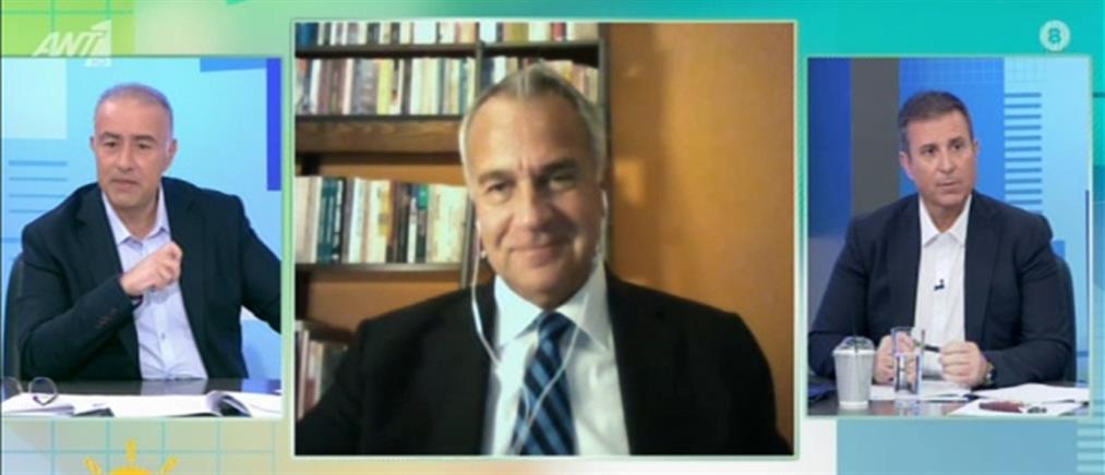 Κορονοϊός - Βορίδης στον ΑΝΤ1: αποφασίζουμε με βάση τη δημόσια υγεία και την οικονομία (βίντεο)