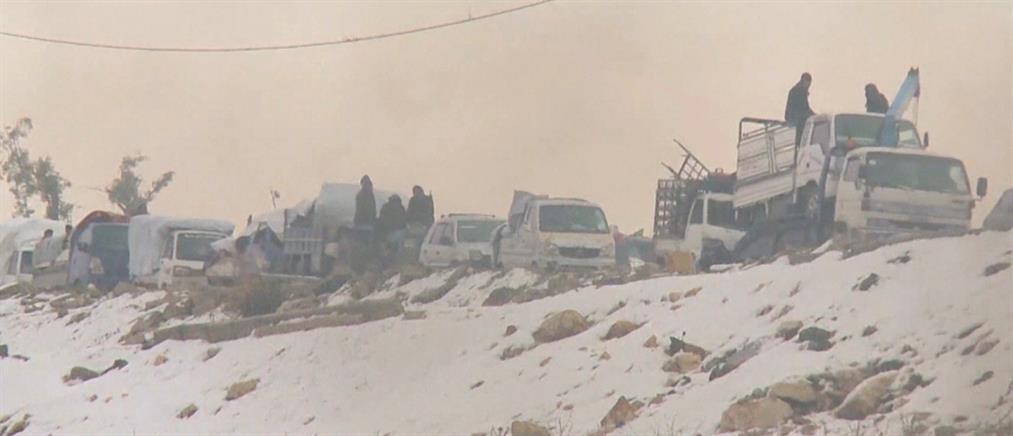 Στα χέρια του συριακού στρατού το χιονισμένο Χαλέπι (βίντεο)