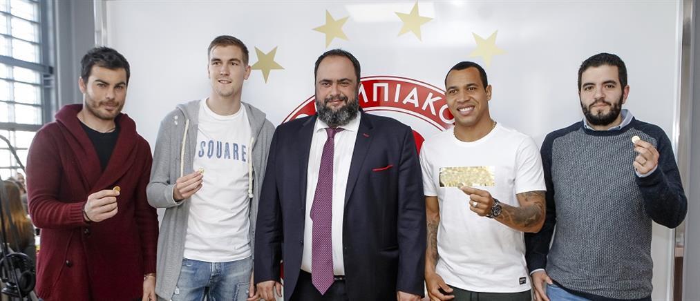 Μαρινάκης: όλοι μαζί για το πρωτάθλημα!
