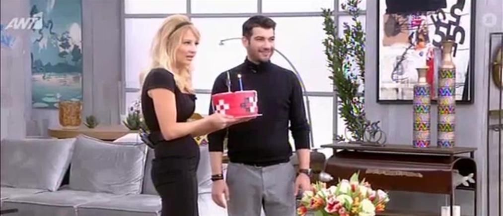 """Μάνος Ιωάννου: τα γενέθλια και η παρέμβαση της μητέρας του στο """"Πρωινό"""" (βίντεο)"""