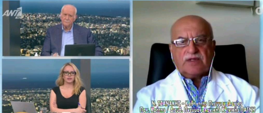 Τζανάκης στον ΑΝΤ1: στο 40% οι πλήρως εμβολιασμένοι πολίτες στα μέσα Ιουνίου