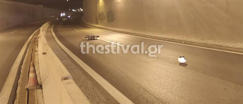 Θεσσαλονίκη: Νεκρός μοτοσικλετιστής που οδηγούσε στο αντίθετο ρεύμα (εικόνες)