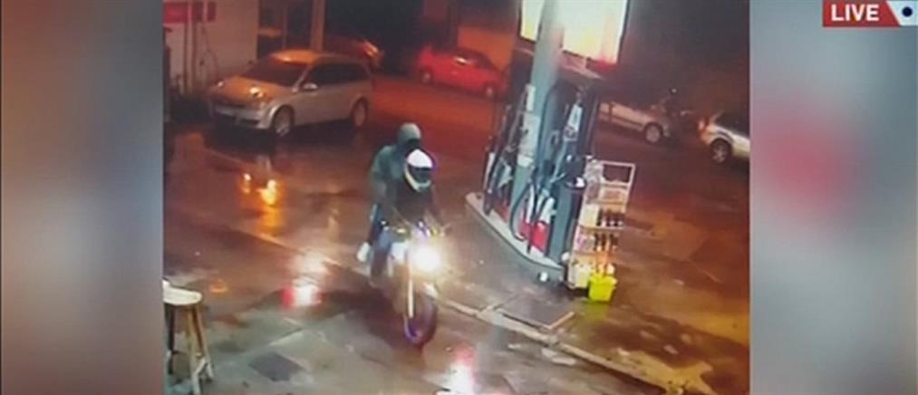 Ντοκουμέντα από ληστείες σε βενζινάδικα (εικόνες)