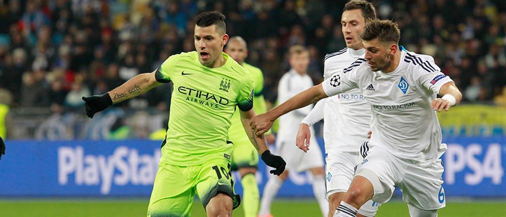 "Champions League: ""Πέρασε"" από το Κίεβο η Σίτι, ισοπαλία στο Αϊντχόφεν"