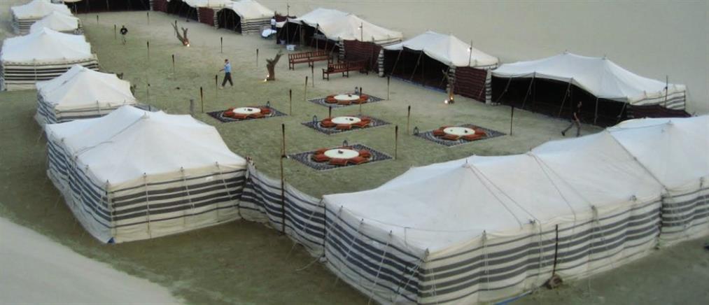 Καταυλισμούς στην έρημο… για τους φιλάθλους του Μουντιάλ στο Κατάρ