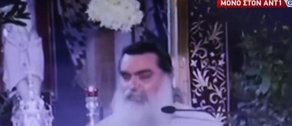Ιερέας έκανε rapid test με… Θεία Κοινωνία – τι είπε στον ΑΝΤ1 (βίντεο)