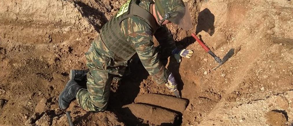 Εξουδετέρωσαν 9 βόμβες σε δρόμο στο Ίλιον (εικόνες)