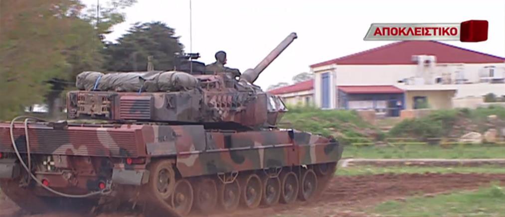 """Αποκλειστικές εικόνες από την στρατιωτική άσκηση """"Βολή 7"""" (βίντεο)"""