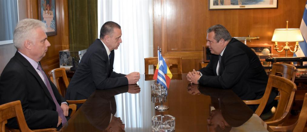 Ρουμανική στήριξη στην Ελλάδα για τους φυλακισμένους στρατιωτικούς