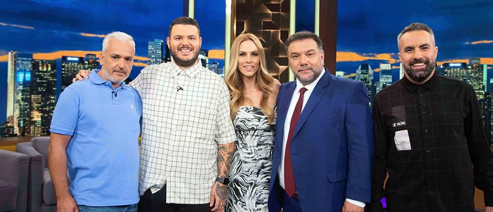 """""""The 2Night Show"""": Η Ντορέττα Παπαδημητρίου και οι κριτές του """"Game Of Chefs"""" (βίντεο)"""