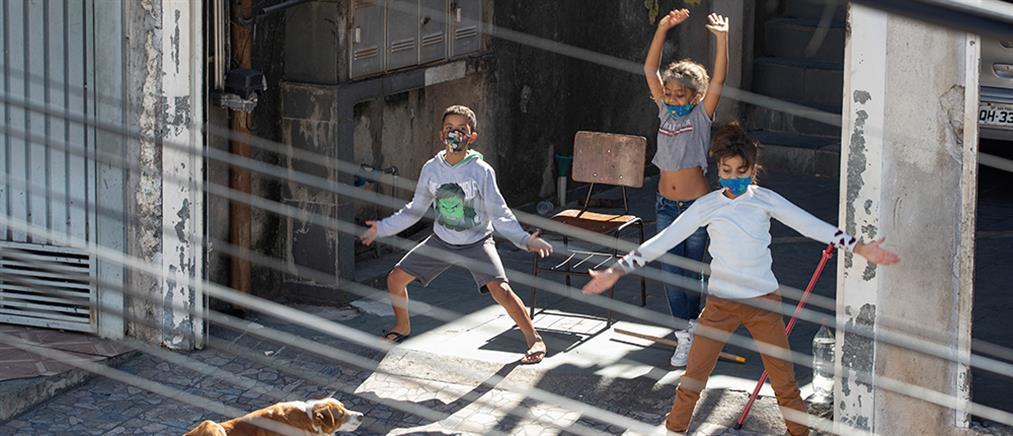 Γυμναστική στις ταράτσες του Σάο Πάολο (εικόνες)