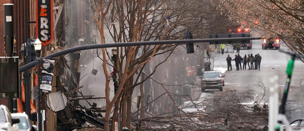 Νάσβιλ: Θρίλερ με την έκρηξη στο κέντρο της πόλης (εικόνες)