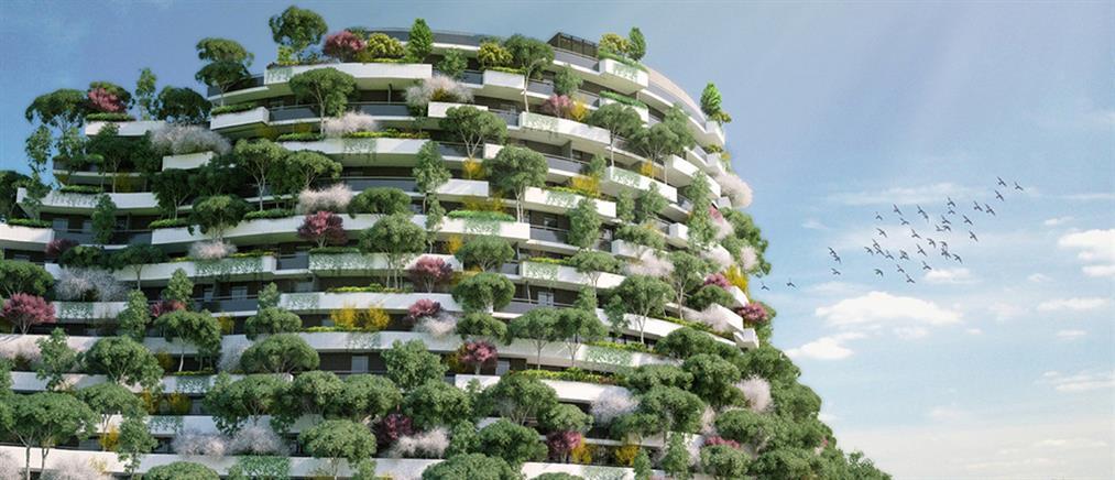 """Η """"Πόλη-Δάσος"""" που θα μετατρέπει το διοξείδιο του άνθρακα σε οξυγόνο (φωτό)"""