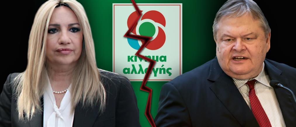 Βενιζέλος: η Γεννηματά έκανε επιλογή αυτοχειριασμού του ΚΙΝΑΛ