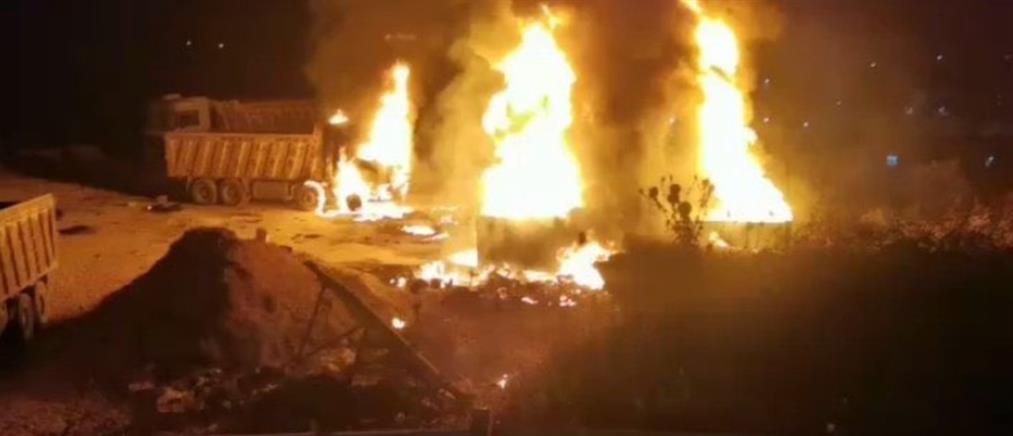 Λίβανος: έκρηξη βυτιοφόρου με δεκάδες νεκρούς (βίντεο)