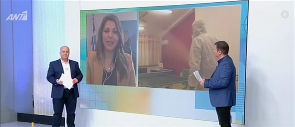 Η Σοφία Ζαχαράκη στον ΑΝΤ1 για τις Πανελλαδικές και την αναπλήρωση των διδακτικών ωρών (βίντεο)